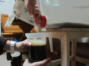 A jug of porter.